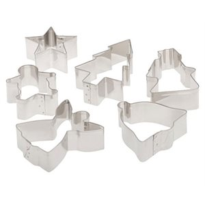 CHRISTMAS COOKIE CUTTER SET 6 / PCS