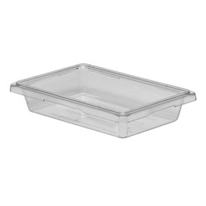 "CONTAINER 18""X12""X3""H POLYCARBONATE CLEAR"