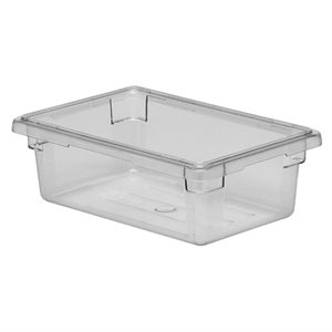"CONTAINER 18""X12""X6""H POLYCARBONATE CLEAR"