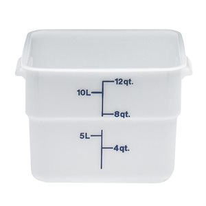 CONTAINER 12qt POLYETHYLENE