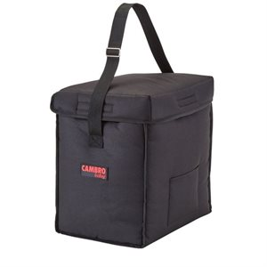 "DELIVERY BAG 13""X9""X13"" BLACK"