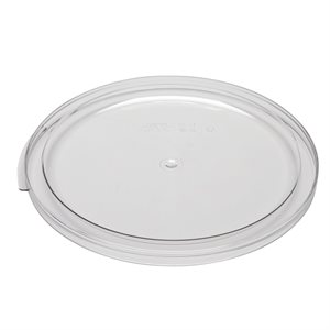 COVER FOR ROUND CONTAINER 12 / 18 / 22 QT CLEAR