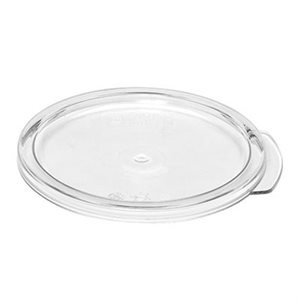 COVER FOR ROUND CONTAINER 1 QT CLEAR
