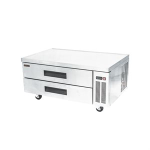 "NEW AIR CHEF BASE WITH DRAWERS 52"" X 32.5"" X 25.5"""