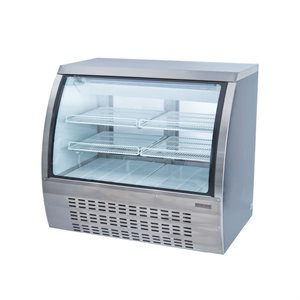 """NEW AIR CURVED GLASS REFRIGERATED DISPLAY CASE 48""""X33""""X43"""""""