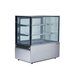 """NEW AIR SQUARE GLASS REFRIGERATED DISPLAY CASE 47""""X29""""X54"""""""