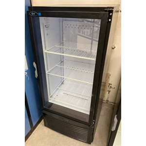 "REFRIGERATOR USED GLASS DOOR 24-7 / 8"" X 24-1 / 2"" X 54"""