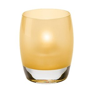 CONTOUR VOTIVE SATIN GOLD
