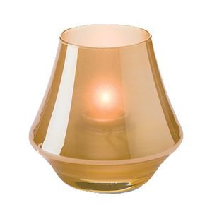 CHIME CANDLE LAMP SATIN GOLD