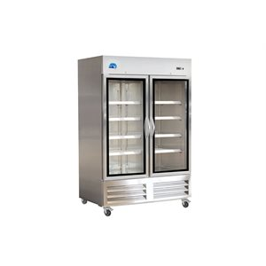 KRIO 2 GLASS DOOR REFRIGERATOR