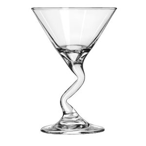 "MARTINI PIED EN ""Z"" 5oz Z-STEMS"