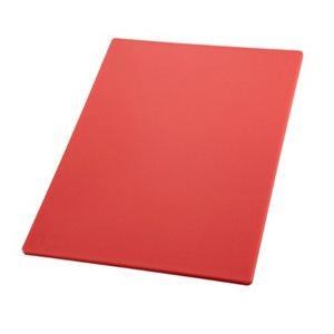 CUTTING BOARD 12X18X1 / 2 RED