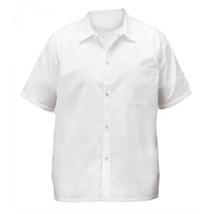 COOK'S SHIRT WHITE MEDIUM