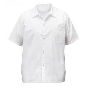 COOK'S SHIRT WHITE X-SMALL WHITE