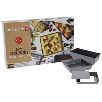 ESSENTIAL HOME BAKING BOX TARTS & CAKES (3 PC)