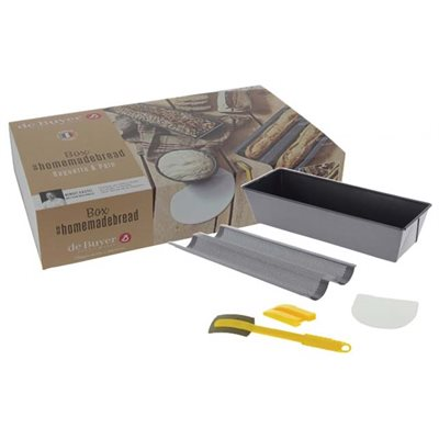 ESSENTIAL HOME BAKING BREAD BOX (4PC)