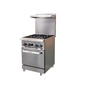 "IKON RANGE 24"" 4-BURNER NATURAL GAS"