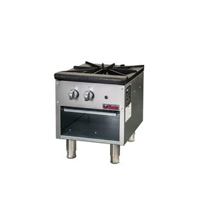 "IKON STOCK POT RANGE 18"" 1-BURNER"