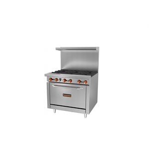 SIERRA 6 BURNER STOVE MODEL SR-6-36