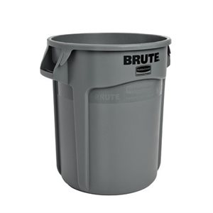 BRUTE GARBAGE BIN 20 GALLON GREY