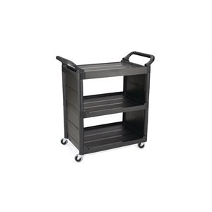 "CART 19""x34"" BLACK WITH END PANELS"