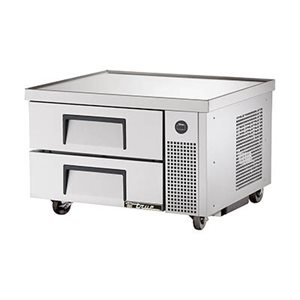 "TRUE CHEF BASE 36"" 110V WITH S / S DRAWERS"