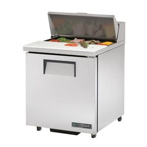 "TRUE SALAD UNIT 27"" 110V S / S DOOR, 8 PAN"