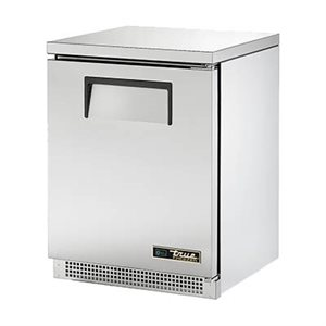 "TRUE UNDERCOUNTER FREEZER 24"" S / S DOORS"