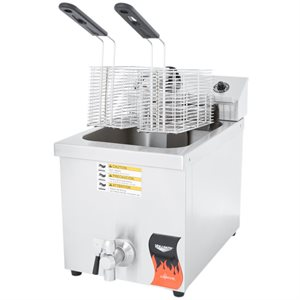 FRITEUSE - ELECTRIC 240V 1 PANIER 3000W