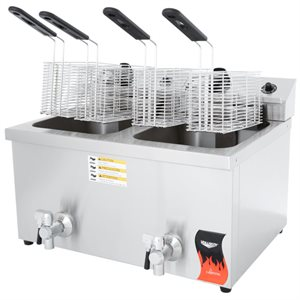 FRYER 220V WITH DRAIN