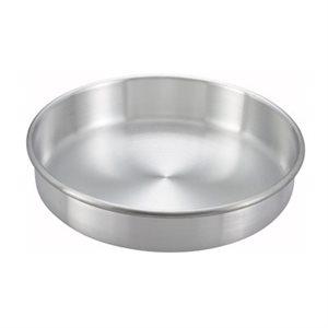 "ALUMINUM CAKE PAN 10""D X 3""H"