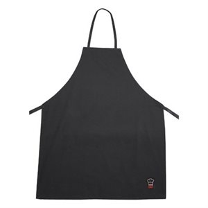 FULL LENGTH BIB APRON BLACK