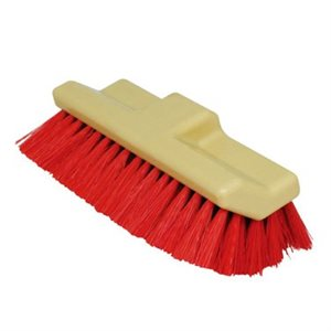 """BROSSE A PLANCHER 10"""" ROUGE"""