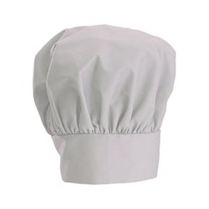 "CHEF HAT WHITE 13"" H"