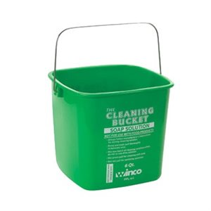 GREEN PAIL 6QT SOAP SOLUTION